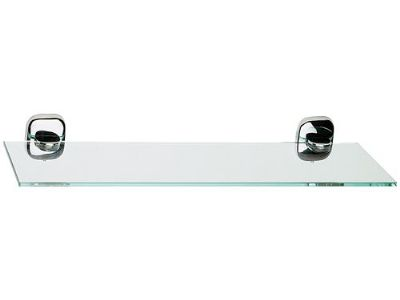 Suite Glass Shelf with Chrome Brackets - 01000017